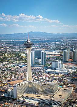 Vegas Stratosphere by Julie Bergonz