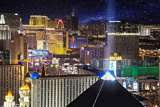 Vegas Strip by Matt Cohen