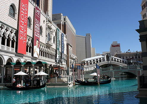 Vegas Venice Italy by David Nicholls