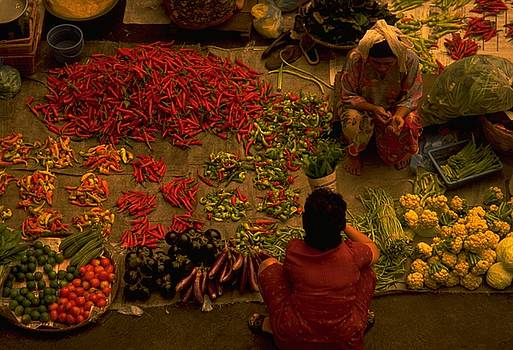 Vegetable Market in Malaysia by Travel Pics