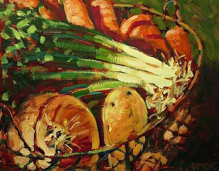 Veggie Basket by Brian Simons