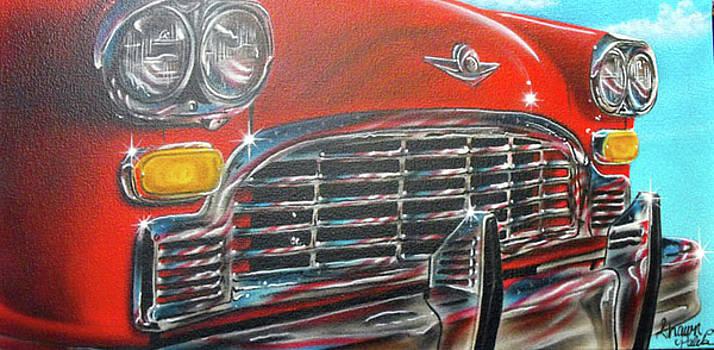 Vehicle- Grill by Shawn Palek