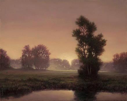 Veiled Morning by Barry DeBaun