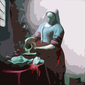 James Hill - Vermeer painting of The KItchen Maid