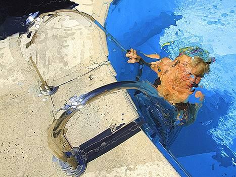 Vence Pool by Richard Wiggins