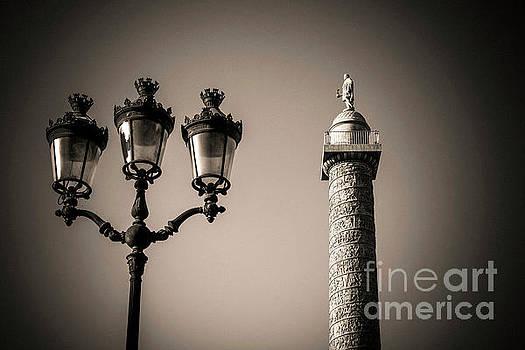 Vendome column. Paris. France. by Bernard Jaubert
