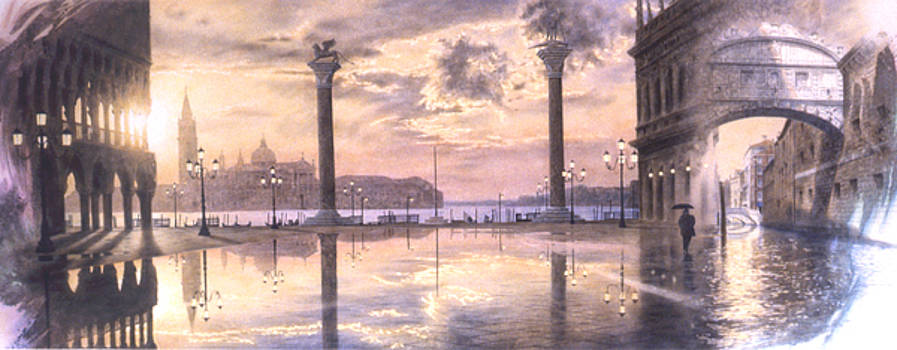 Venecia, The Rising Tides by Loren Salazar