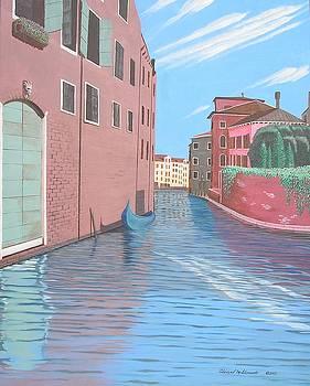 Venetian Canal by Edward Maldonado