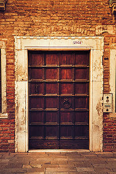 Venetian Doorway by Andrew Soundarajan