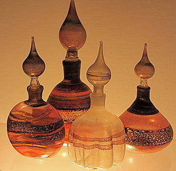 Yvonne Ayoub - Venetian Glass perfume Bottles
