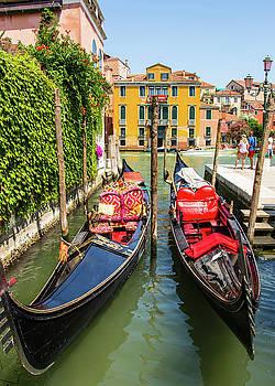 Venetia Featherstone-Witty - Venetian Gondolas
