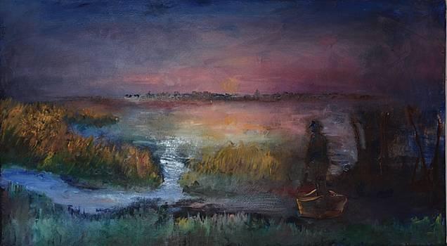 Venetian Lagune by Alex Spinello