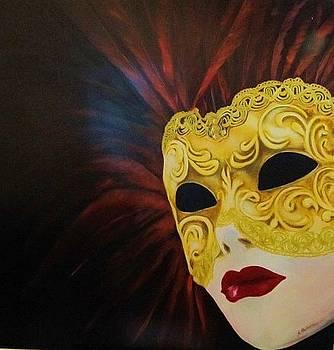 Venetian Mask by Antonios Theodosiou