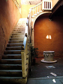 Venetian Stairway by Donna Corless