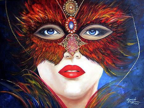 Venetian Tigress by Leonardo Ruggieri
