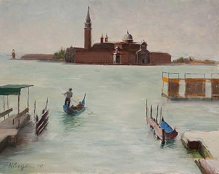 Venice - Isola di San Giorgio Maggio  by Katherine Seger