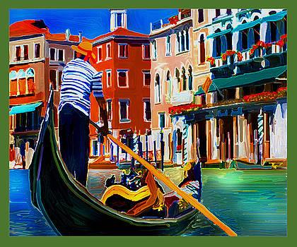 Venice 1 Gondola by Dyana  Jean
