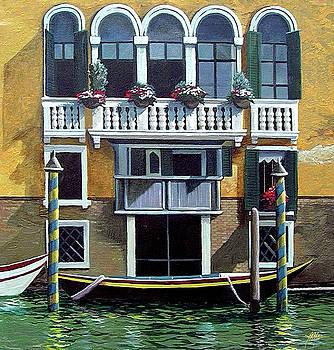 Venice 1 by James R Hahn