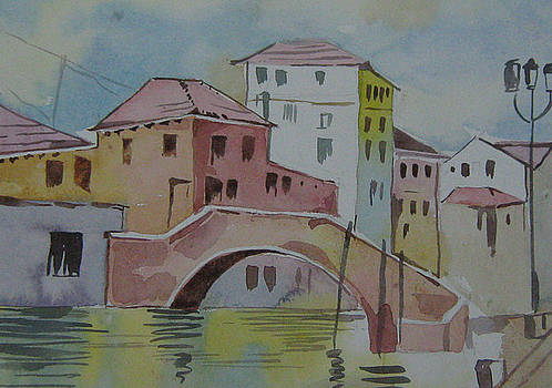 Venice by Akhilkrishna Jayanth
