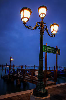 Venice at Night by Andrew Soundarajan
