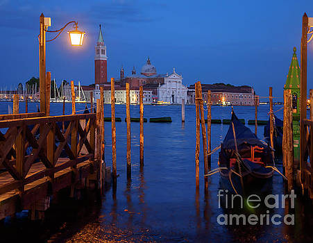 Venice at Night by Louise Heusinkveld