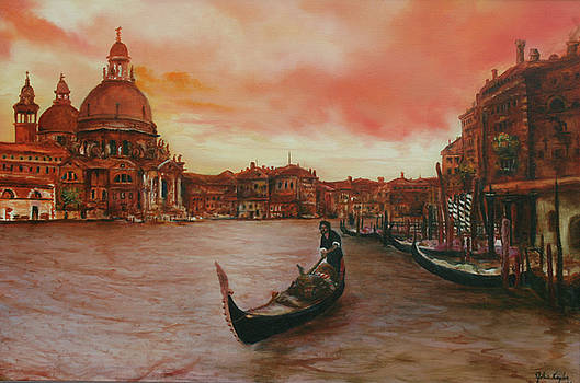 Johnnie Kaylor - Venice at sunset