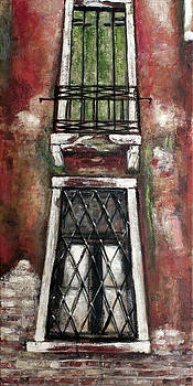 Venice Balcony and window by Vladimir Kezerashvili