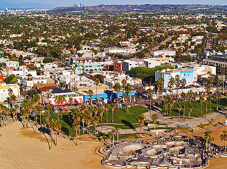Venice Beach Aerial by Daniele Smith