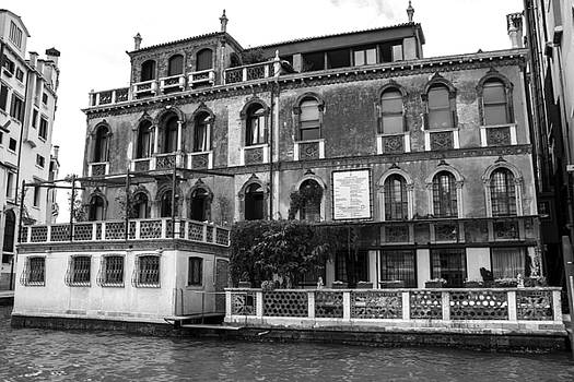 Venice black and white by Milan Mirkovic