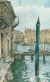 Venice. Blue Day by Sakurov Igor