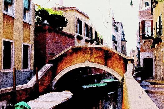 Venice Bridge by Peggy De Haan