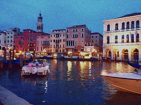 Venice by Night by Anne Kotan