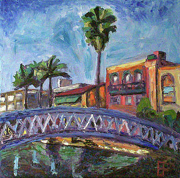 Allen Forrest - Venice CA Canal Bridge