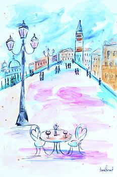 Venice Cafe by Shaina Stinard