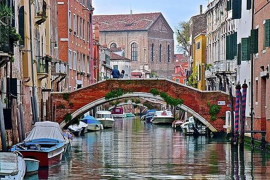 Venice Canal as Seen in The Italian Job by Frozen in Time Fine Art Photography