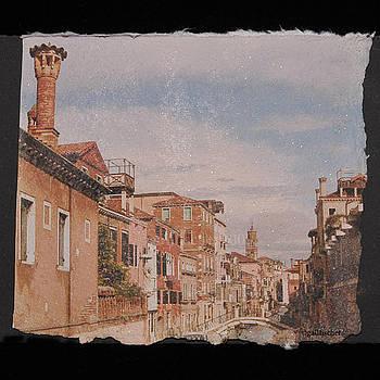Venice Canal by Gail Fischer