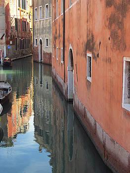 Venice Canal by Simi Berman