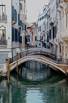 Venice Canal by Teresita Abad Doebley