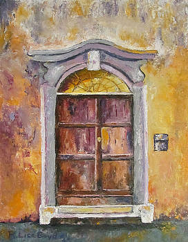 Venice Door by Lisa Boyd