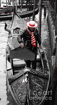 Marc Daly - Venice gondola 2