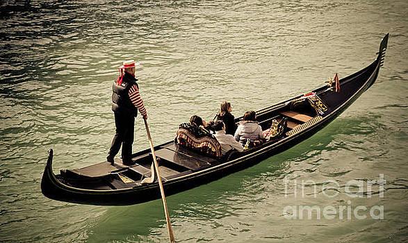 Marc Daly - Venice gondola