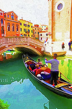 Dennis Cox - Venice Gondola Series #1