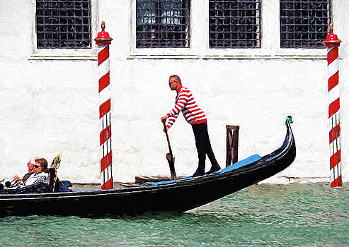 Dennis Cox - Venice Gondola Series #5