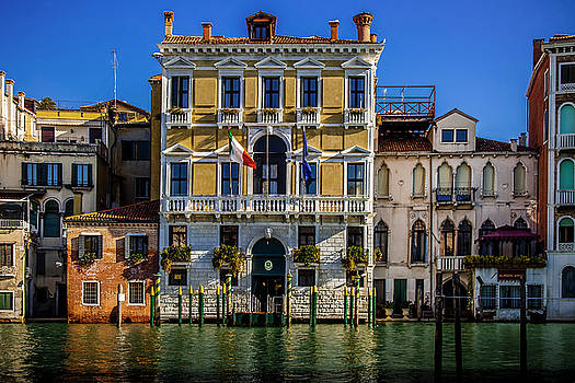 Venice Grand Canal by Andrew Soundarajan