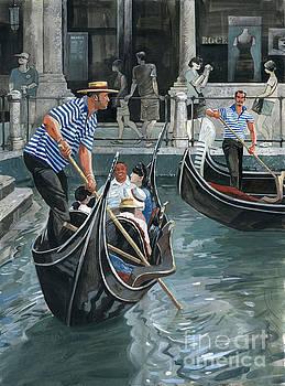 Venice. Il Bacino Orseolo. by Sakurov Igor