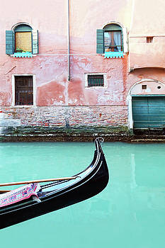 Venice in Aqua and Coral by Brooke T Ryan