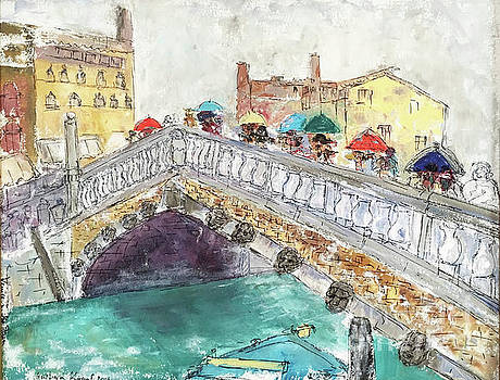 Venice in the Rain by Barbara Anna Knauf