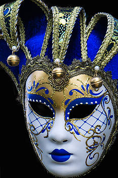 Venice Italy Carnival Mask IV by Russell Mancuso
