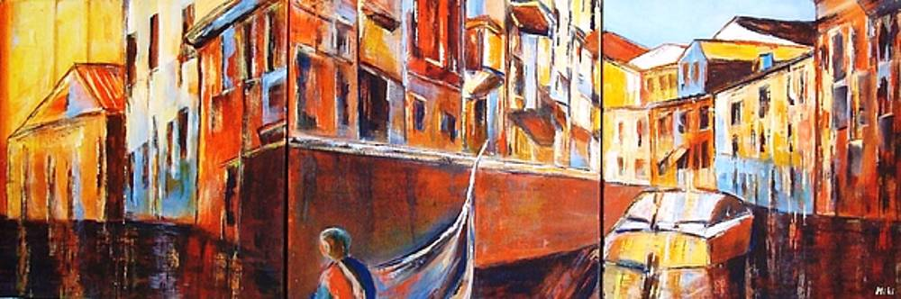 Venice Journey by Miki  Sion