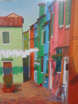 Venice Laundry by Maureen Obey